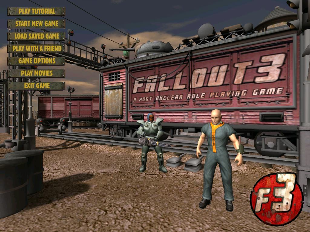 Fallout 3 Main Menu screen