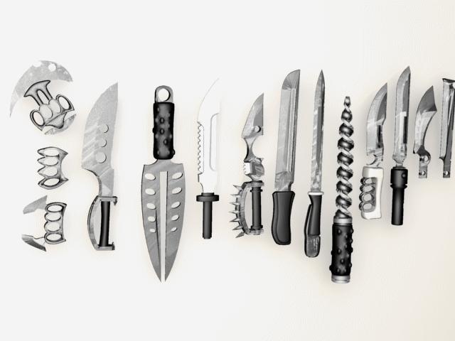 Sigonyth: Melee weapons