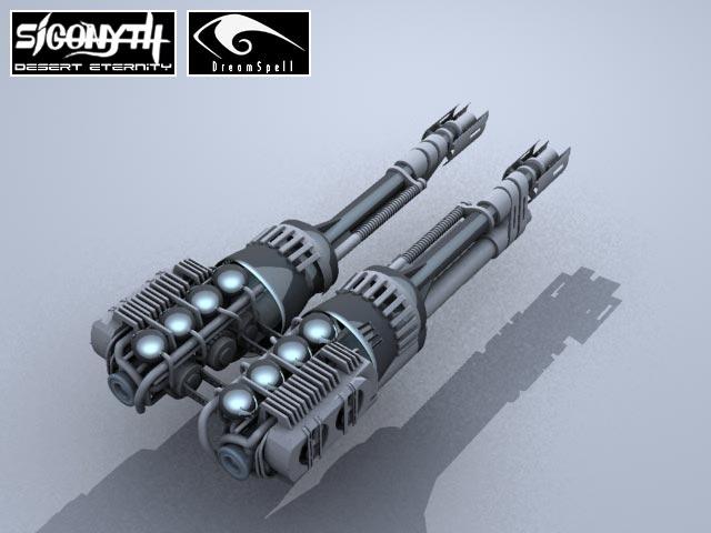 Sigonyth: 3D model of Cannon