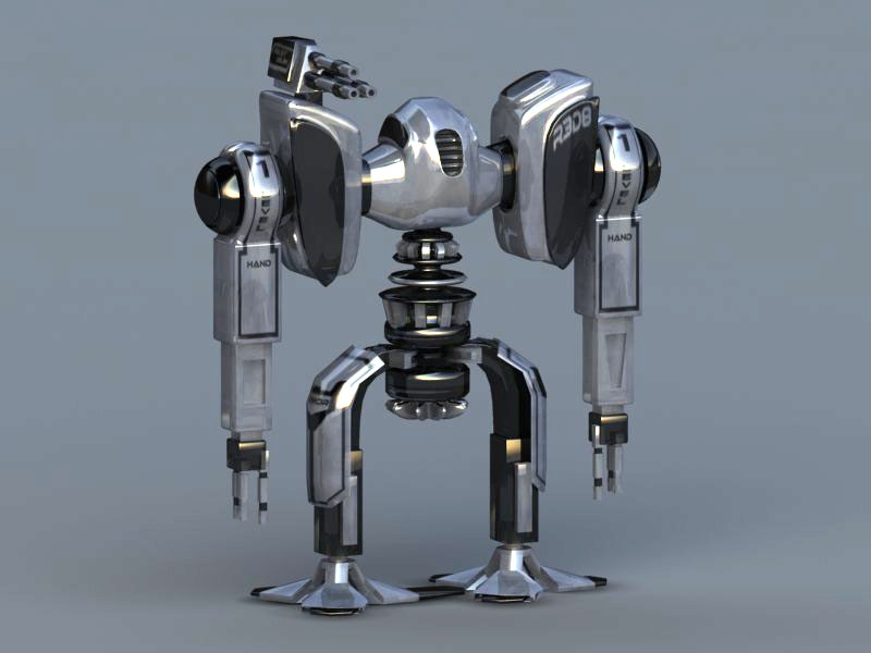 R3D8 - one of robots