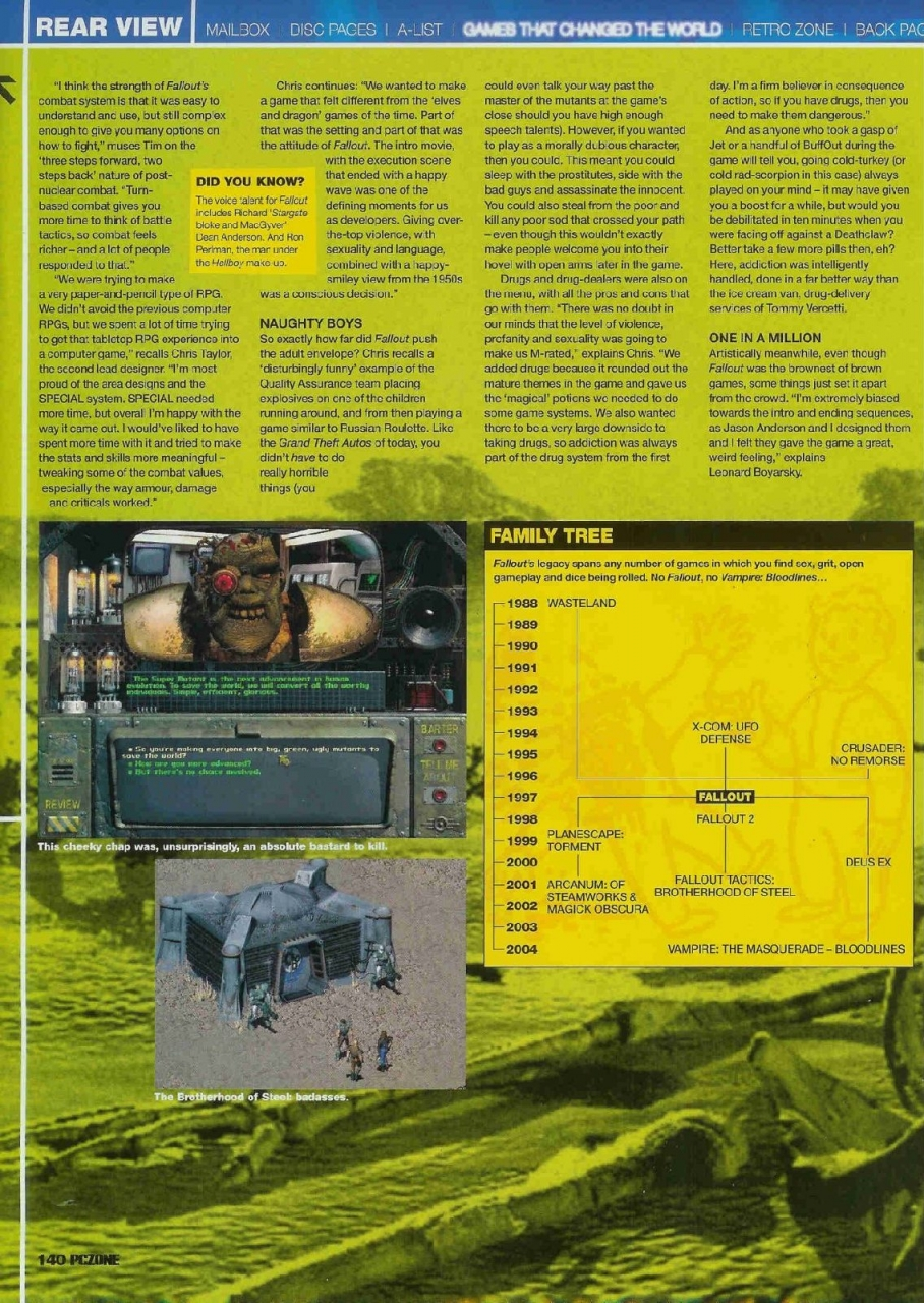 PCZone Fallout Feature Page 3