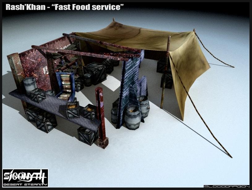 Sigonyth: fast food tent