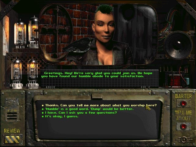 Interaction Screen