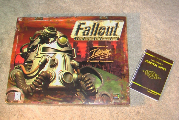 Fallout box with manual