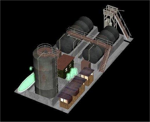 Toxic Waste Conversion Plant