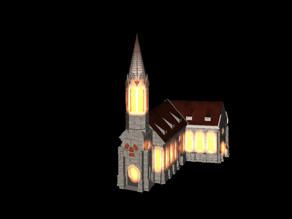 Fallout Civ 3 Mod - Cathedral