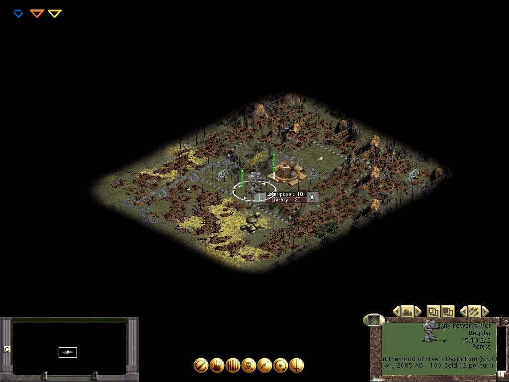 Fallout Civ 3 mod - Early PA unit