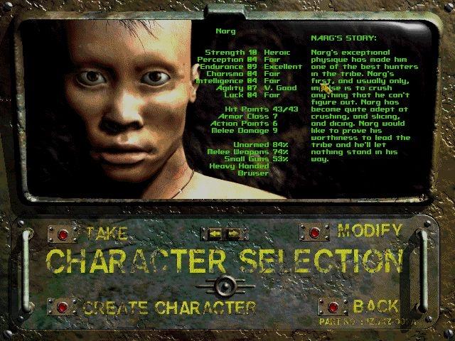 Character Selection 2