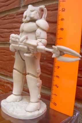 Plastic Enclave Trooper #2