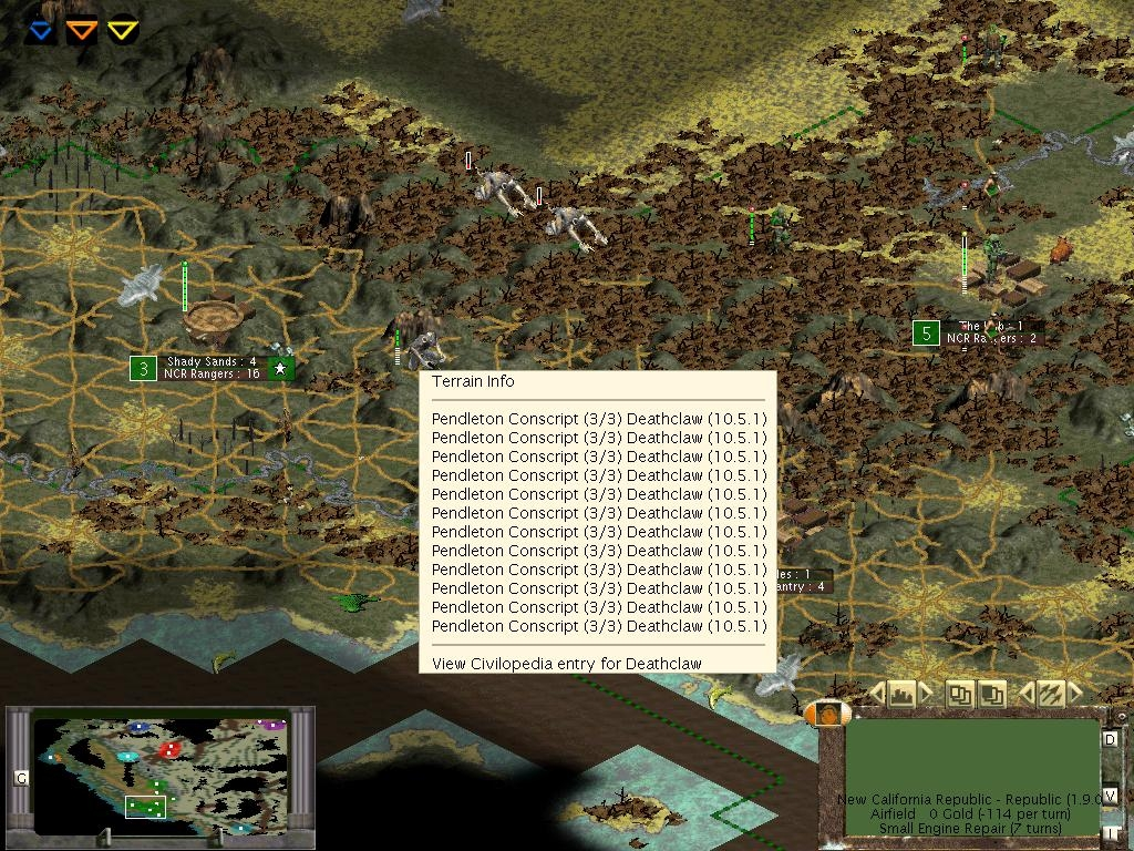 Civ3:ROC screen #1