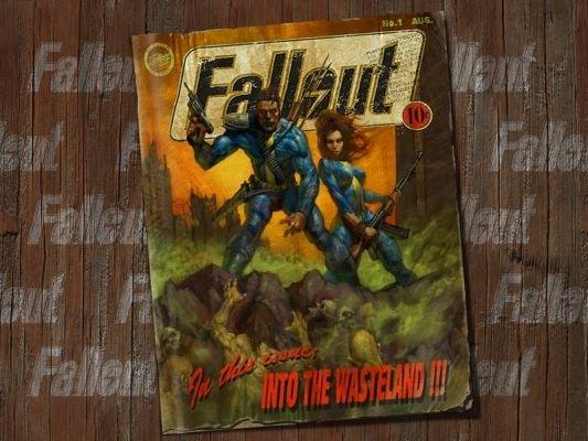 Fallout Comic - Splash Screen