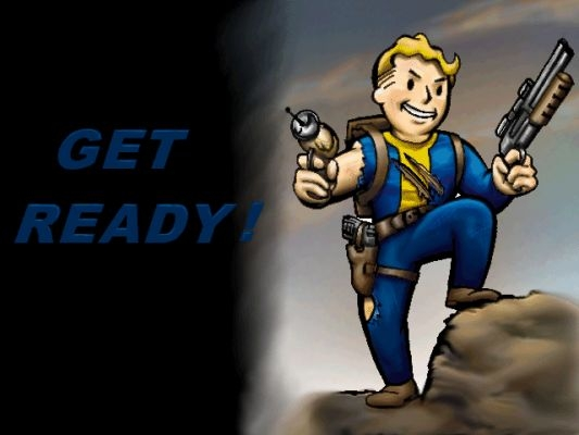 Get Ready! - Fallout Loading Screen