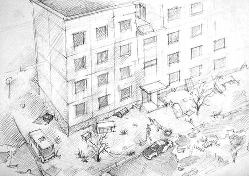 Outcome Concept Art - Building