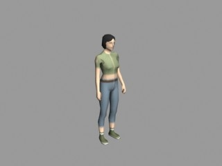 Outcome Render - Female NPC
