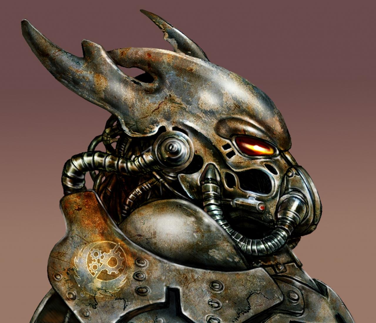 Power Armour Head