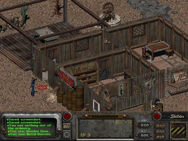 Fallout 2 New Life Mod screen
