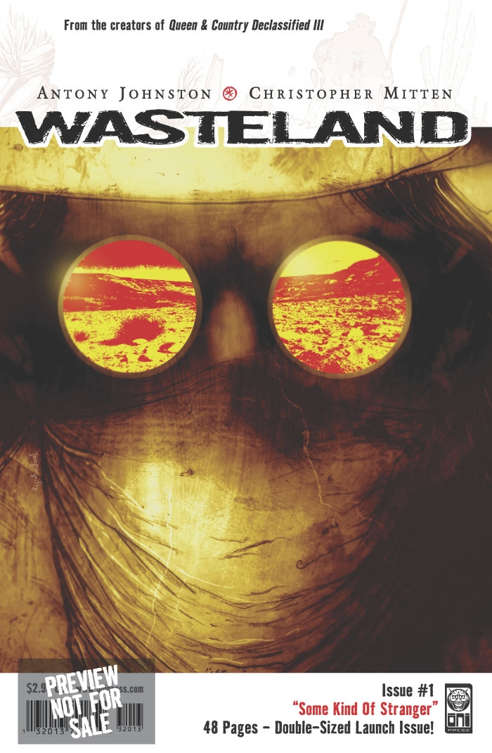 Wasteland Comic Preview