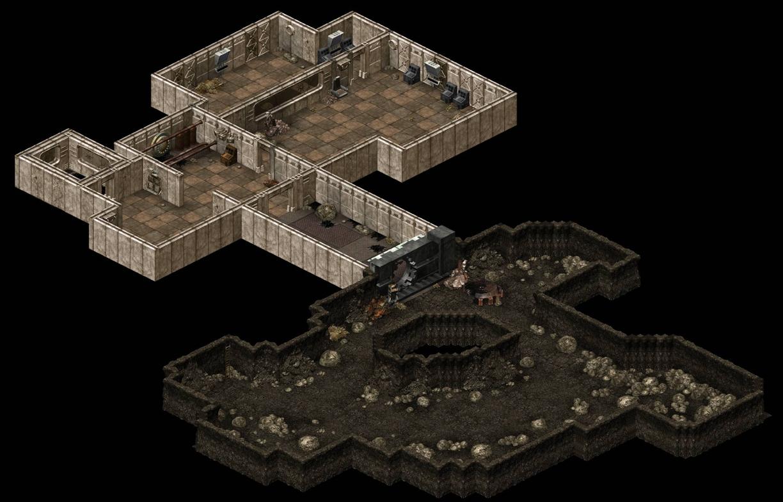 Fallout > Tactics - Vault 15 Caves