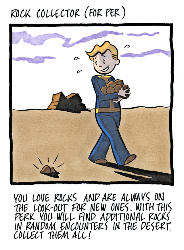 Rock Collector (For Per)