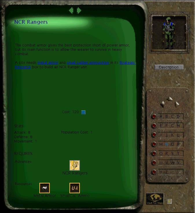 Fallout: RoC civilopedia entry