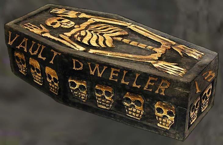 Vault Dweller Sarcophagus