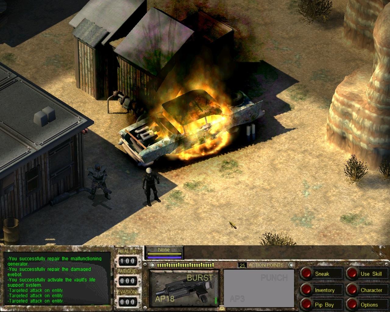 Van Buren screenshot