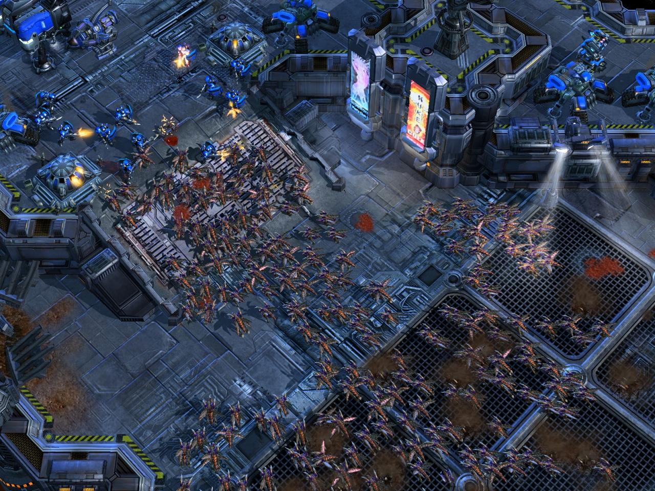 StarCraft II promo art