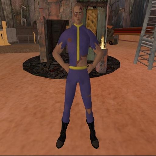 Second Life Vault Suit - Damaged