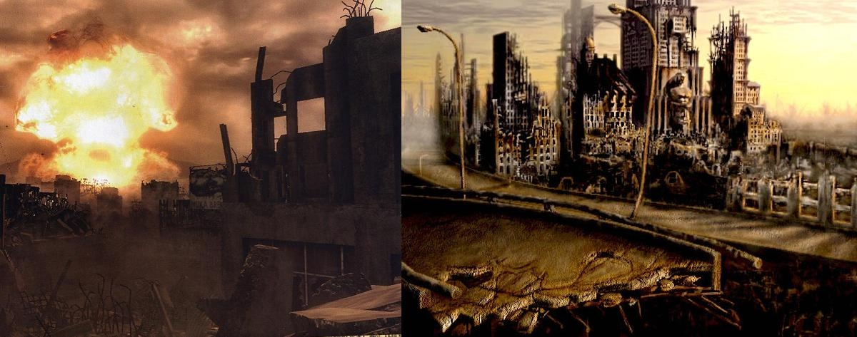 Architecture comparison for Fallout 3
