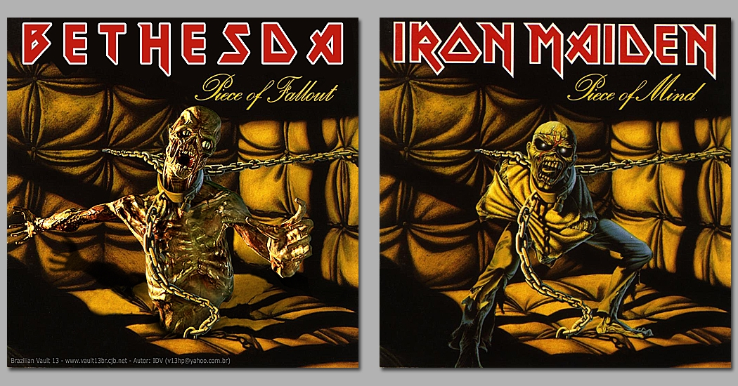 Bethesda Piece of Fallout - Iron Maiden Piece of Mind