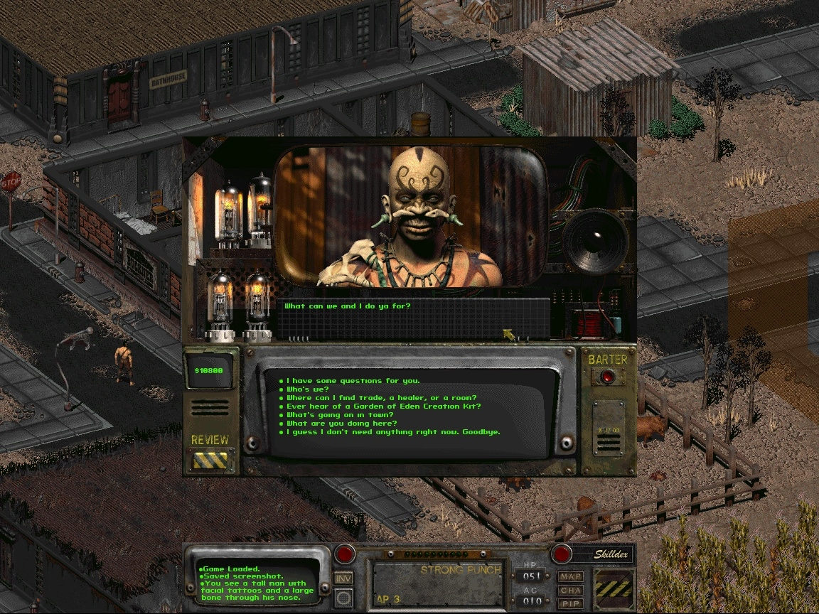 Fallout 2 at 1152*864 resolution