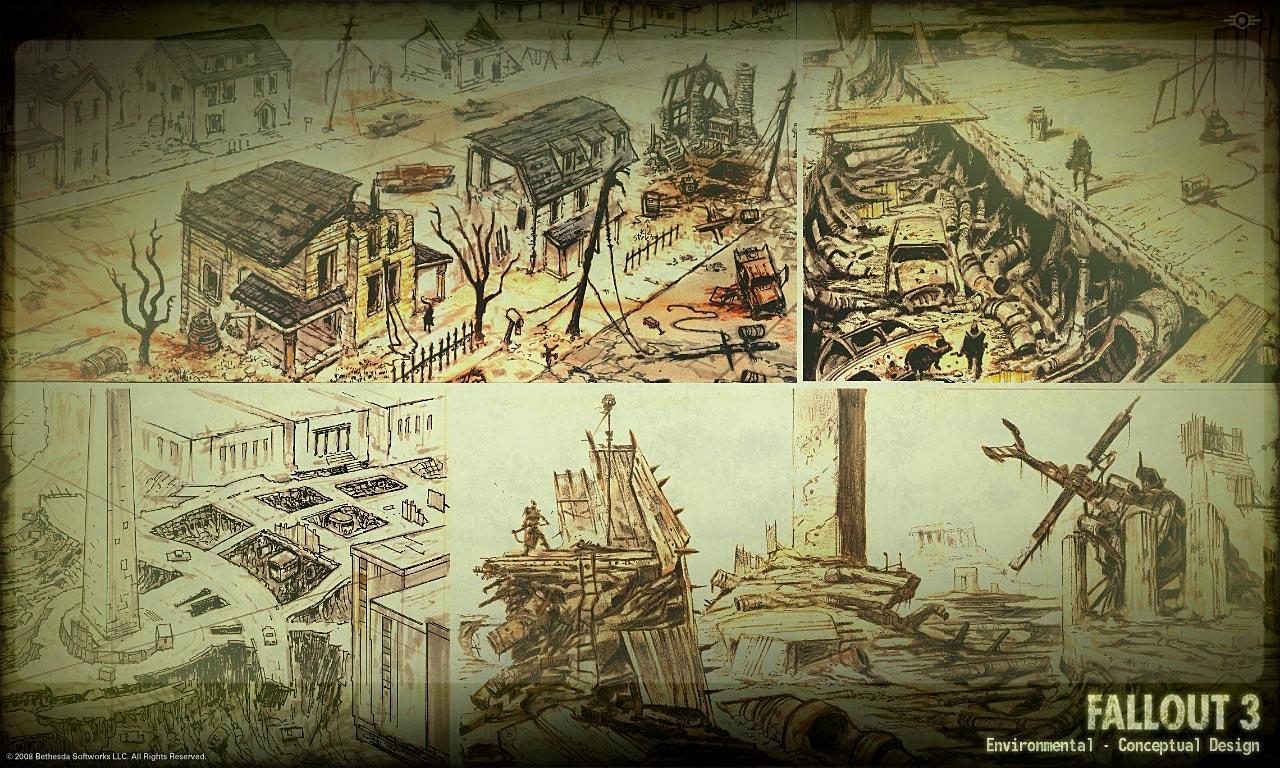 Environmental concept art