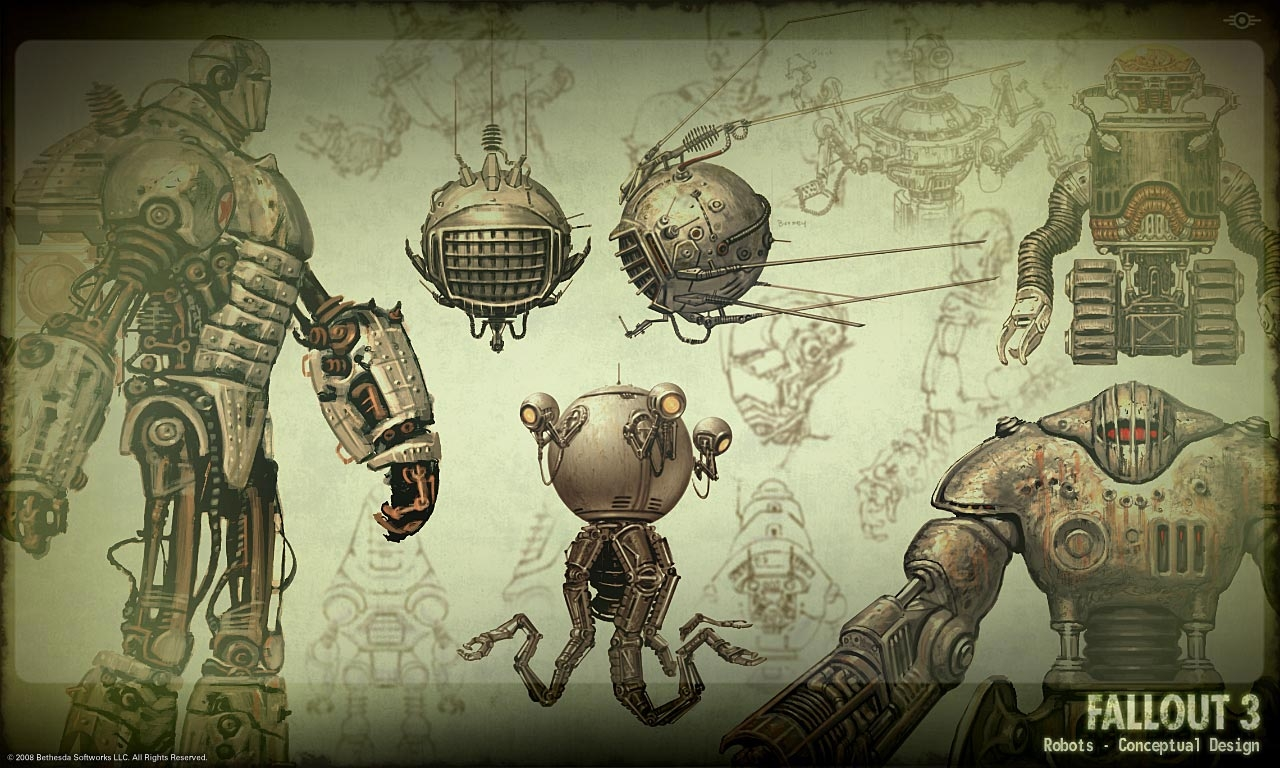 Robots concept art
