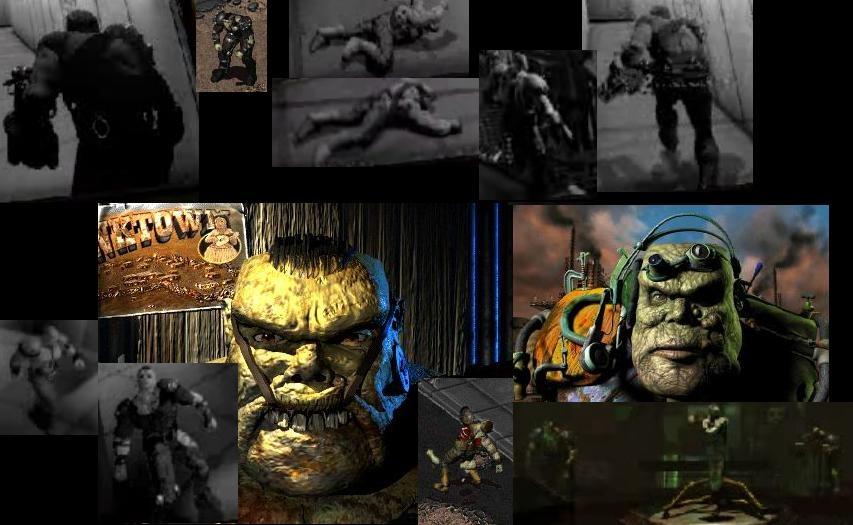 Mutant collage