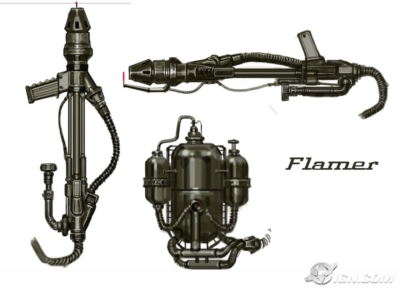 Flamer concept art