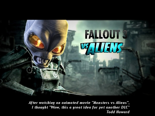 Fallout 3 vs Aliens