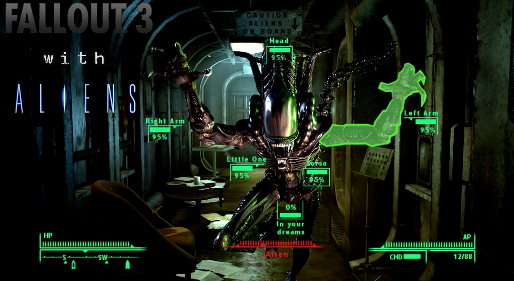 Fallout 3 with Aliens