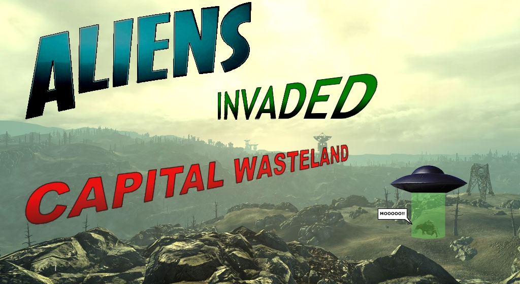 Aliens Invaded Capital Wasteland
