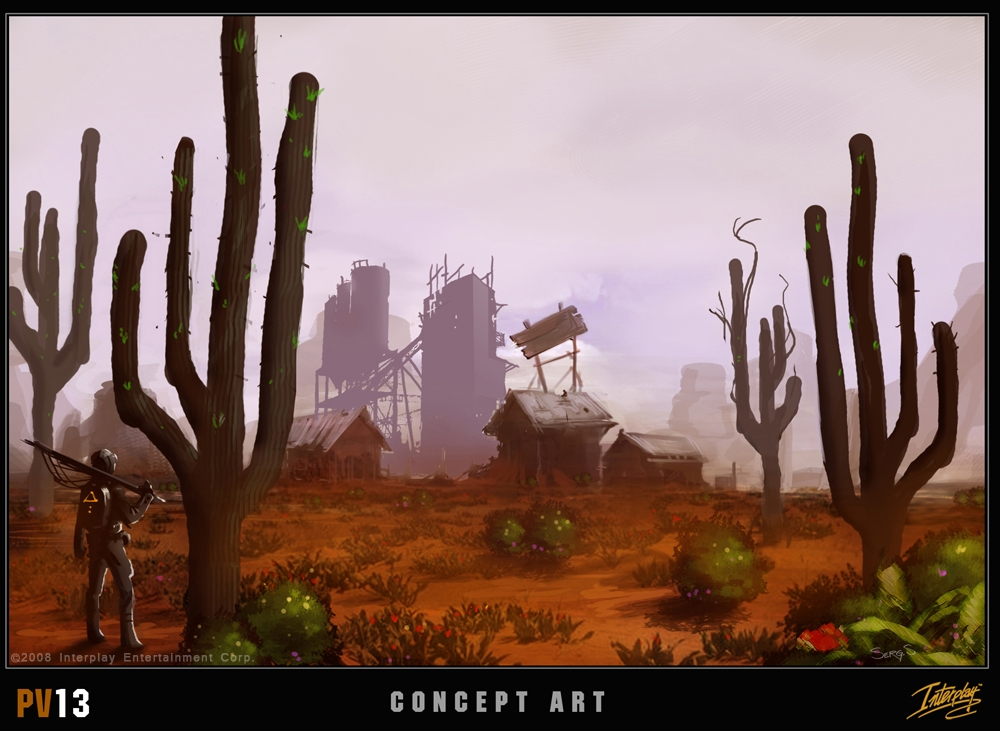 Project V13 Desert concept art