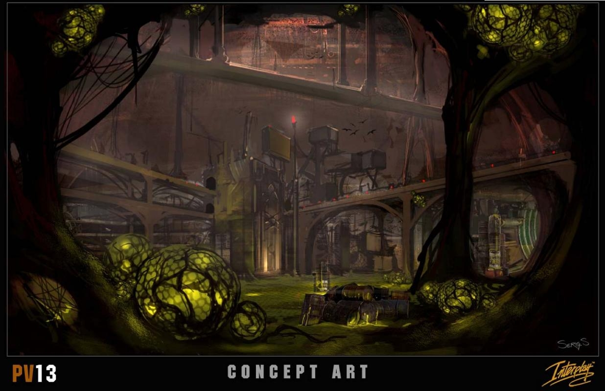 Project V13 Concept Art - Underground City