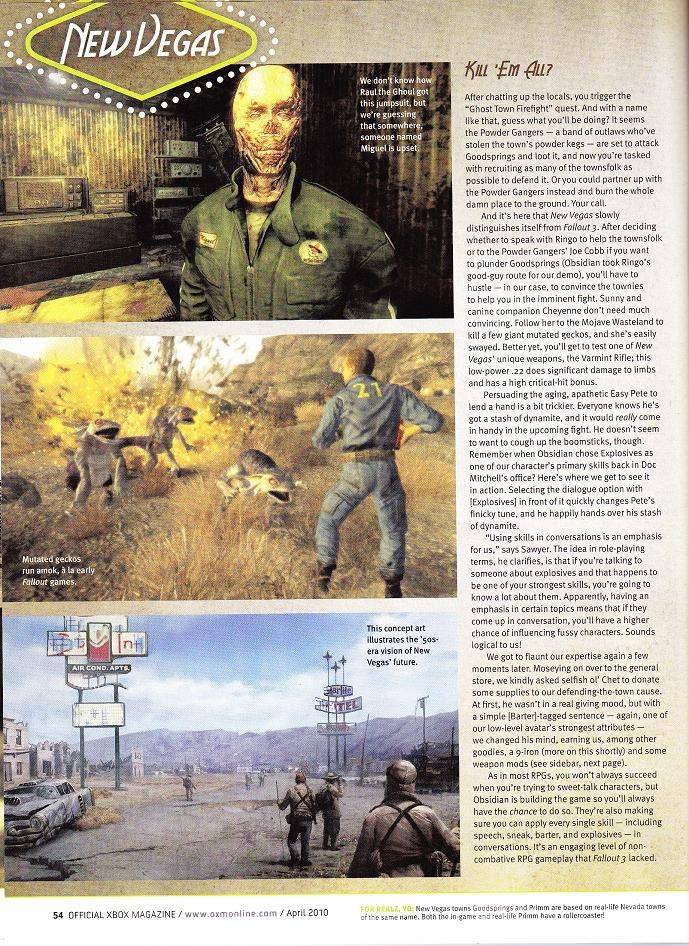 OXM US Fallout: New Vegas preview