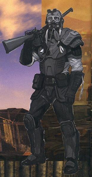 New Vegas Armor Sketch