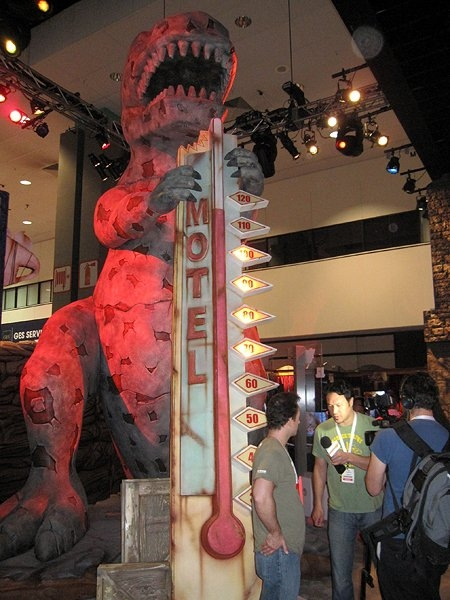 Fallout: New Vegas E3 booth - Dinky