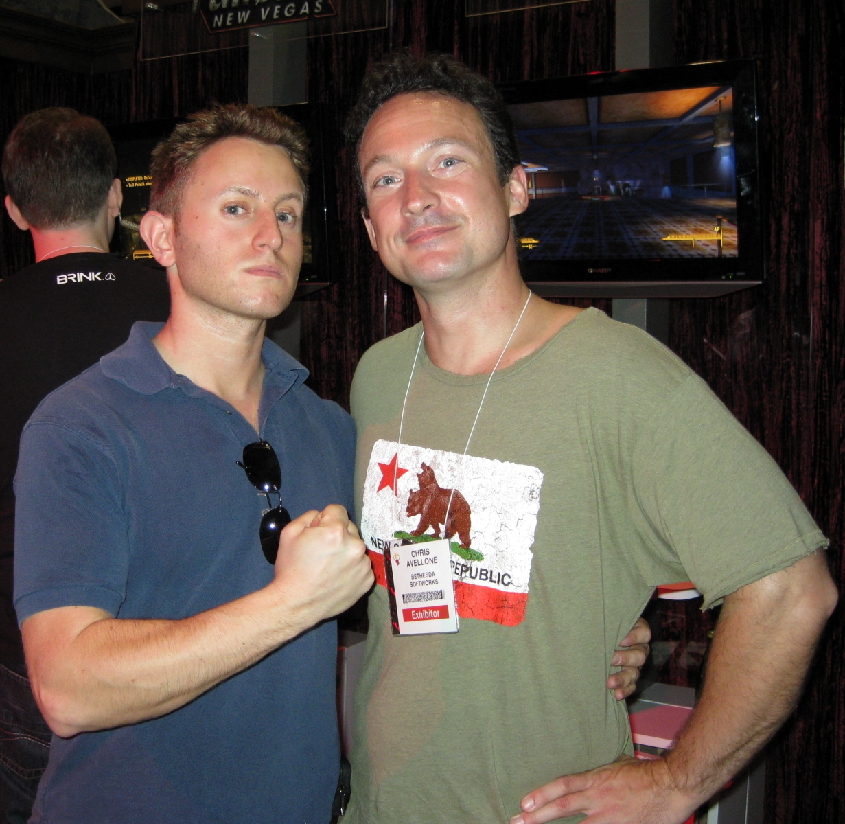 Me and Chris Avellone