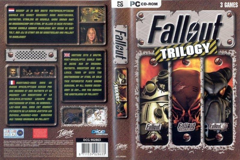 Fallout Trilogy box
