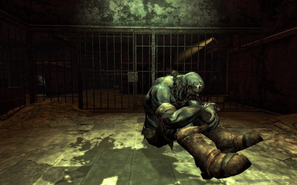 """Dead Money screenshot #1: """"Dog"""""""