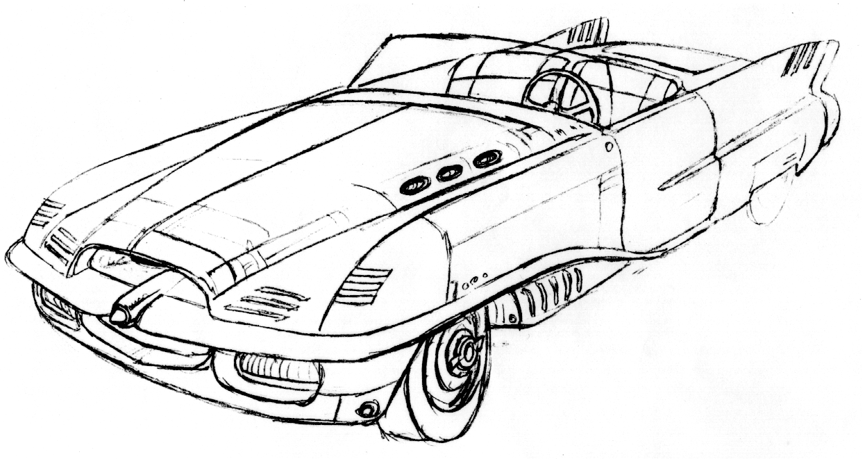 Press pack: Coupe concept art