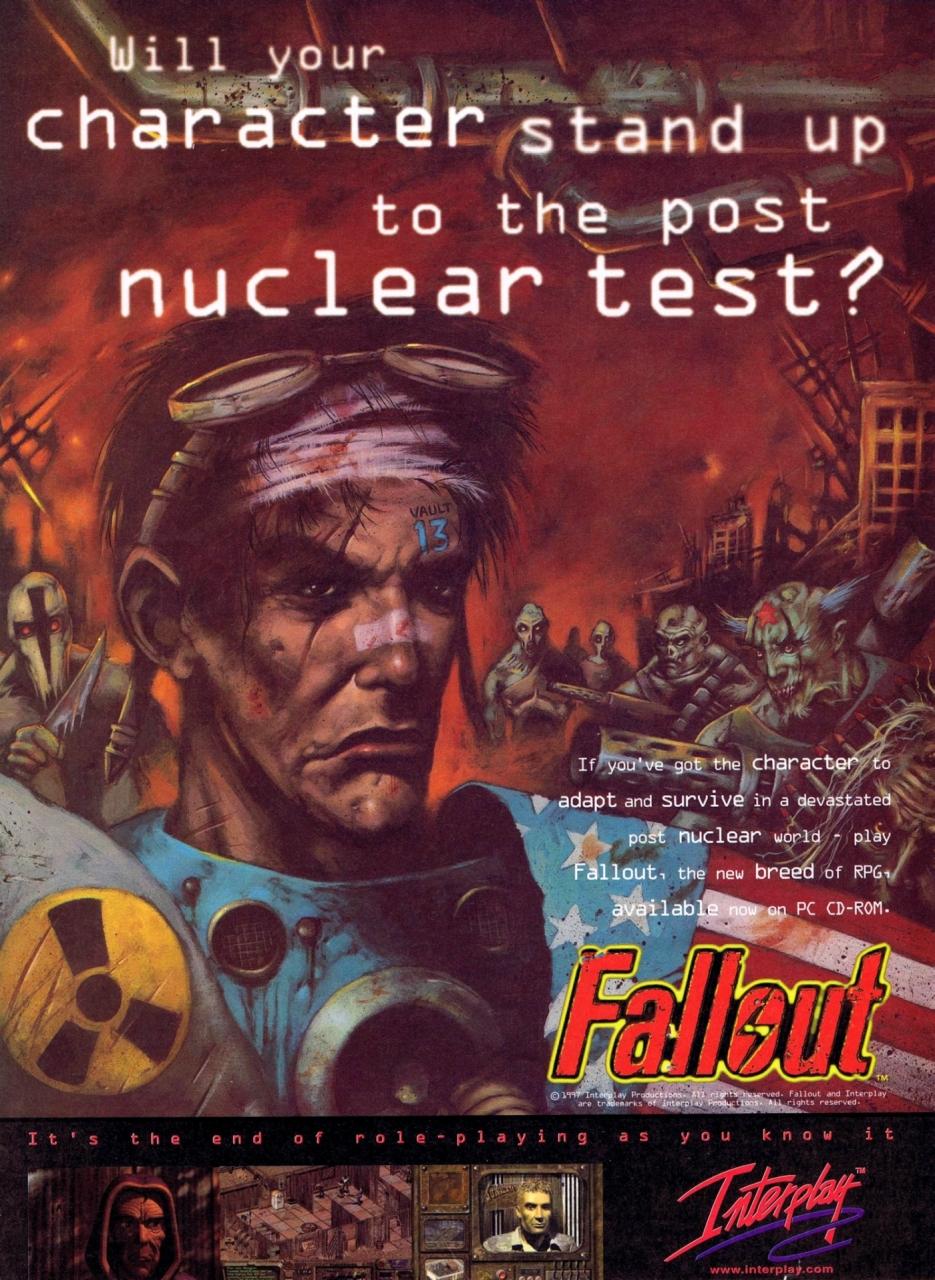 Fallout 1 promo ca. 1995