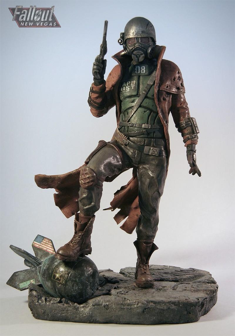 Fallout: New Vegas NCR Ranger statue