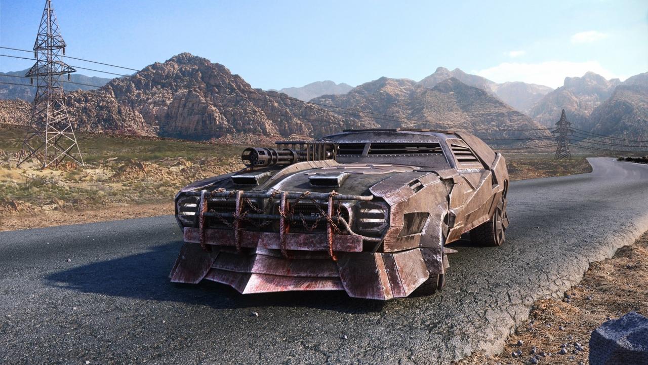 Road Monster - Pontiac Firebird